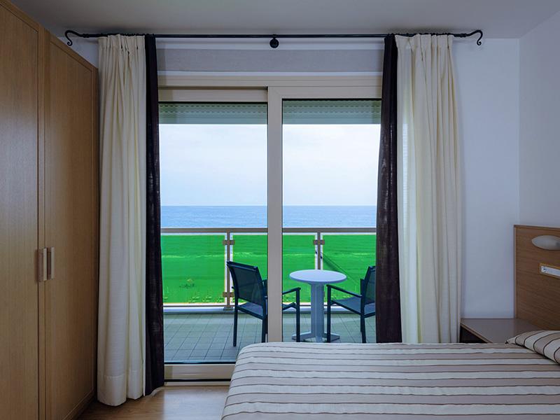 Zimmer mit direktem Meerblick